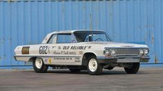 """Dave Strickler's """"Old Reliable"""" - '63 Z-11 tuned by Bill """"Grumpy"""" Jenkins"""