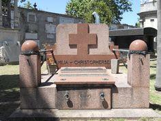 Uruguay / Montevideo / Cementerio Central / Sepulcro Familia Christophersen