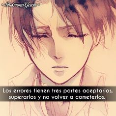 Los errores tienen #ShuOumaGcrow #Anime #Frases_anime #frases
