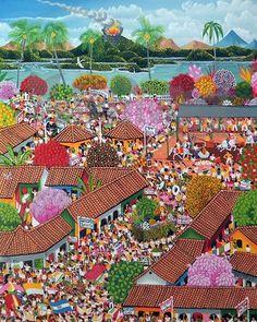 San Jeronimo Patron Saint Festival – Arte Primitivista