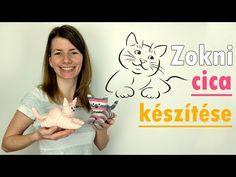 Zokni cica készítése | Manó kuckó - YouTube Sock Animals, Cat Toys, Youtube, Decor, Fun Crafts, Hilarious, Decoration, Decorating, Youtubers