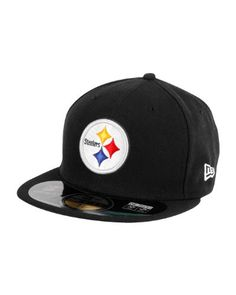 ff831478010 NFL Mens Pittsburgh Steelers On Field 5950 Game Cap By New Era http
