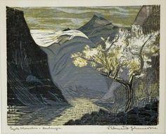 "Linosaurus: Frithjof Tidemand Johannessen, ""epleblomster .. Hardanger"""