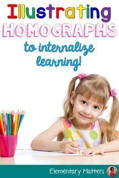 Illustrating Homophones: Children internalize learning by integrating the arts into their daily learning. This post tells about visualizing and illustrating to remember homographs Reading Comprehension For Kids, Homographs, Second Grade Teacher, Primary Classroom, Future Classroom, Arts Integration, Teaching Resources, Teaching Ideas, Teaching Materials