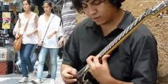 Street Guitarist Damian Salazar Blows Minds (But Doesn't Turn Too Many Heads) in This Video | Guitar World