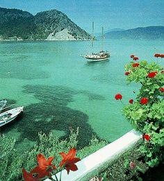 Betoverend gewoon die turkooise zee