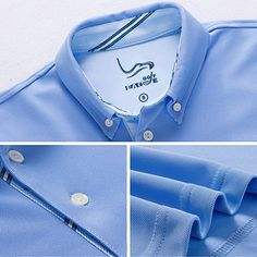 d7f3451ed Amazon.com: EAGEGOF Men's Shirts Navy Short Sleeve Tech Performance Golf  Polo Shirt Loose Fit Medium: Clothing