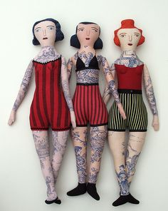 if I was a doll collector, i'd collect these