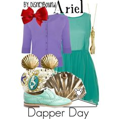 """""""Ariel"""" by lalakay on Polyvore #disney"""