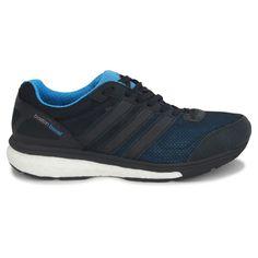 adidas adizero Boston boost 5  http://www.deporr.com/adidas-adizero-boston-boost-5-negro-azul.html?utm_source=pinterest.com&utm_medium=referral&utm_content=adidas+Kanadia+Tr+6&utm_campaign=Fotos