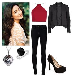 """""""Quinn Walter"""" by charmedgreys ❤ liked on Polyvore featuring Ström, Boohoo, Jessica Simpson, VILA and Blue Nile"""