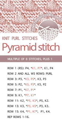 How to Knit the Lattice Cable Stitch Pattern with free knitting pattern and video tutorial by Studio Knit Knit Purl Stitches, Knitting Stiches, Free Knitting, Sock Knitting, Knitting Machine, Vintage Knitting, Baby Knitting Patterns, Crochet Patterns, Pattern Sewing