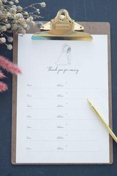 芳名帳無料テンプレート第4弾!新郎新婦のイラストデザイン - ARCH DAYS 結婚式・ベビーシャワー・誕生日のおしゃれなアイディア集 Free Wedding, Wedding Paper, Wedding Stationery, Free Printables, How To Draw Hands, Place Card Holders, Hand Drawn, Book, Free Printable