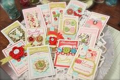 Papertrey ink button boutique stamps