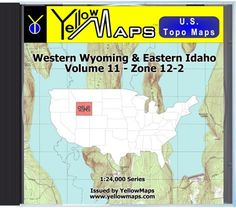 YellowMaps US Topo Maps Eastern USA DVD Collection - Eastern us topographic map