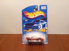 Hot Wheels Pontiac Banshee #32 CD Customs #4 of 4 2000 Orange w/ Flames #HotWheels #Pontiac