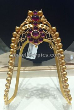 Simple Ara Vanki design by Nalli jewellers - Latest Jewellery Designs