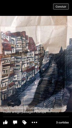 Old drawing Suzanna Paulla bomfim