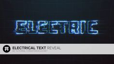 AE: Electric Pulsing Text Tutorial on Vimeo