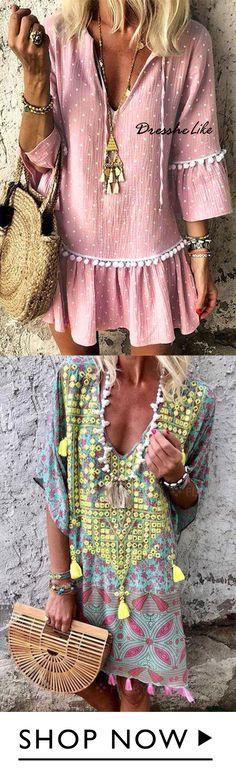 Top Summer boho beach hippie dress must-have. Buy 1 get off. Top Summer boho beach hippie dress must-have. Buy 1 get off. Diy Summer Clothes, Summer Outfits, Summer Dresses, Plus Sise, Beach Hippie, Diy Clothes Refashion, Boho Fashion, Fashion Outfits, Vetement Fashion