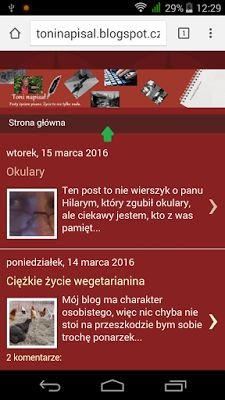 Toni napisał: Zmiany w blogu - dotyczące smartfonów i tabletów