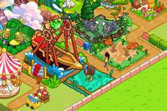 Zoo Story 2 will be welcoming 3 new animals to the game this week. Each one is unique and will definitely stand out in your Zoo. For instance, it is going to be hard to find a Flying Dragon or Cassowary anywhere else. You might even be able to persuade to the Black Fox to make an appearance. But let's not forget about the guests that love animals, but love the rides even more. Keep them entertained by building your own Pirate Ship attraction!