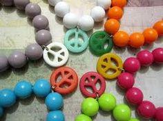 bracelets peace and  love