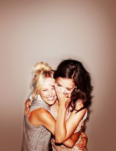 nothing better than best friends. Who knew a blonde and a brunette could make such a great team!♥  I love @Shelia Daniel