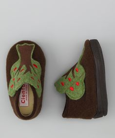 Cienta Brown Tree Slipper