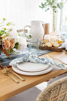 Studio McGee at Target | Julie Blanner Buy Pillows, Striped Table Runner, Floral Tablecloth, Wood Vase, Pillow Texture, Studio Mcgee, Affordable Furniture, Natural Rug, Stuffed Peppers