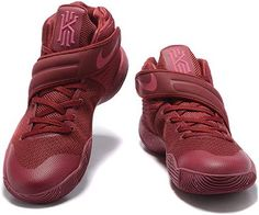 Nike Kyrie 2 Mens Basketball shoes Wine red4