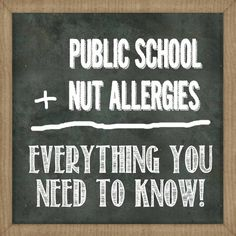 Navigating the Public School System with a Peanut Allergy   Over The Big Moon