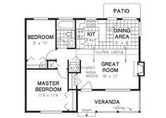 Design House Plan 14x40 cabin floor plans   tiny house   pinterest   cabin floor