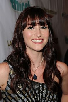 Chyler Leigh.  I'm really sad she's not on Grey's Anatomy anymore :(  She was my favorite!