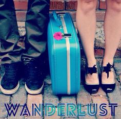 wanderlust [ˈwɒndəˌlʌst] n a great desire to travel and rove about