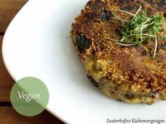 Zauberhaftes Küchenvergnügen: Amaranth-Kartoffel-Linsen-Bratlinge mit Guacamole mal anders...