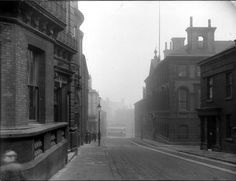 The Sheffield Club left; No. 35 and Joseph Rodgers and Sons Ltd., Norfolk Street Works, cutlery manufacturer, Norfolk Street looking towards Fitzalan Square with the junction with Milk Street right