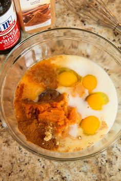 The best Pumpkin French Toast, and it  uses canned pumpkin along with the spices. definitely will make again!