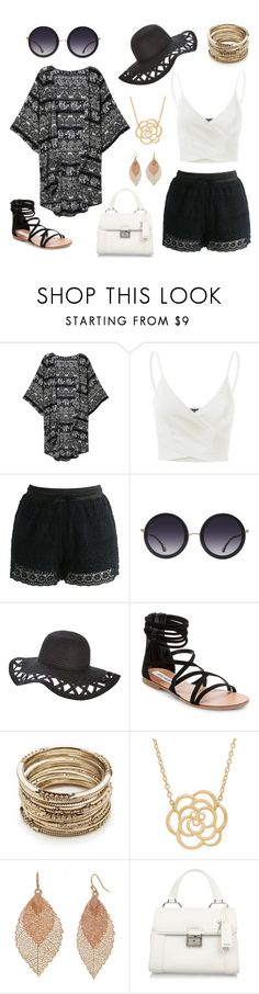 """Silent Movie"" by veronica-wipperfurth ❤ liked on Polyvore featuring Doublju, Chicwish, Alice + Olivia, Steve Madden, Sole Society, Lord & Taylor, Bold Elements and Miu Miu"