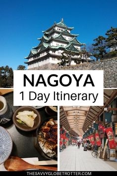 The perfect one day in Nagoya itinerary from a local. Click through for the best things to do in Nayoya Japan what and where to eat and travel tips for first timers. Nagoya Japan Things To Do In Nagoya, Osaka, Japan Travel Guide, Asia Travel, Travel Guides, Greece Travel, Travel Packing, Medan, Places To Travel