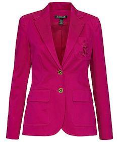 Blazer von Ralph Lauren  #business #fashion #purple #pink