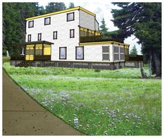 Shipping Container House Plans 4 Bed 4 1/2 Bath - Schematic Design 3300 sf