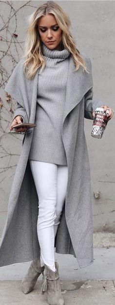 Jeans blancos Cardigan gris Botines grises Suéter gris - https://www.luxury.guugles.com/jeans-blancos-cardigan-gris-botines-grises-sueter-gris/