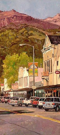 """Calistoga, California I love this charming town, although I only lived here for a couple of years, we visited many times during the """"growing up years"""""""