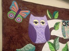 Ella's quilt Owl Quilts, Sewing Projects, Moose Art, Kids Rugs, Animals, Decor, Animales, Decoration, Kid Friendly Rugs