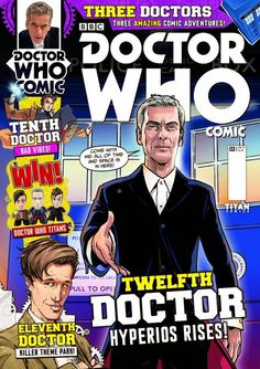 UK: Doctor Who Comic Issue 2 On Sale Now!