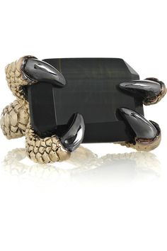 roberto cavalli ring that's on my fashionista wishlist...def adds drama to any outfit ;)