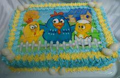 Bolo da Galinha Pintadinha - Theme Cake - https://www.docemeldoces.com/