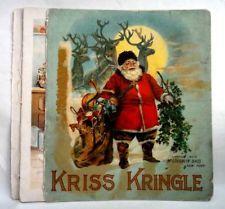 antique christmas book | eBay