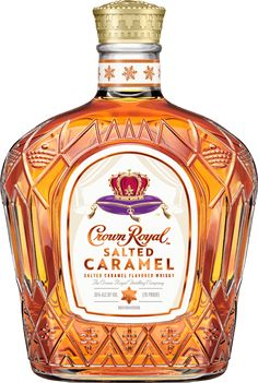 Try our Crown Royal Caramel Apple cocktail recipe, our take on the a fall cocktail made with Crown Royal Salted Caramel Whisky. Crown Drink, Crown Royal Drinks, Crown Royal Whiskey, Crown Royal Bottle, Bourbon Drinks, Whiskey Cocktails, Fireball Drinks, Liquor Drinks, Cheers